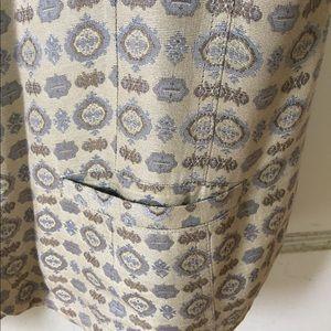 Vintage Brocade Tunic Vest
